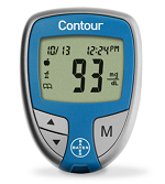 Bayer Contour Blood Glucose Meter